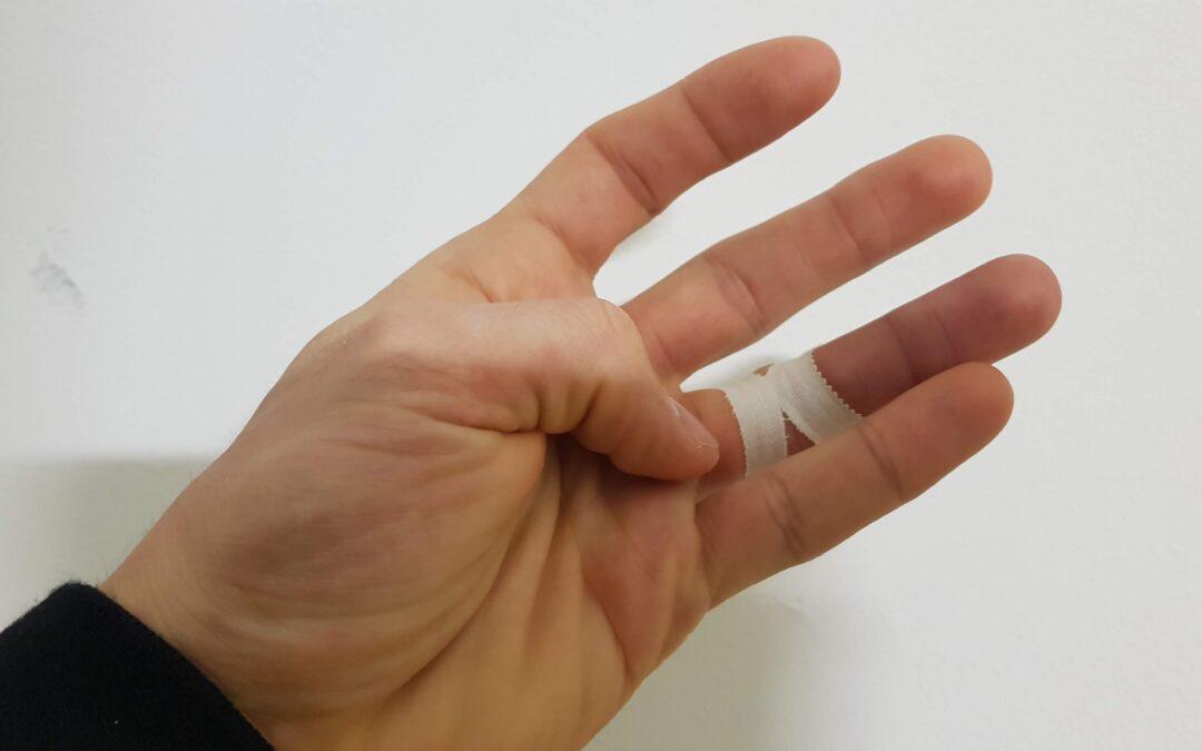 H tape – lesioni della puleggia